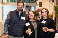 SAN FRANCISCO, CA - October 16 - Nate Smith, Nadine Franczyk and Shannon Knuth attend Kilroy Realty / US Olympic Sailing Cocktail Reception 2019 on October 16th 2019 at Kilroy Innovation Center in San Francisco, CA (Photo - Andrew Caulfield for Drew Altizer Photography)