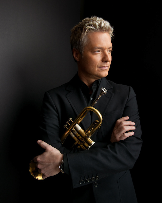 Trumpeter Chris Botti photographed for The Creative Coalition at Haven House in Beverly Hills, California on February 19, 2009