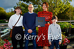 """Bríd O'Connor launching her book """"Spark Stories to Ignite Body, Mind and Soul"""" with her family on Friday in the Rose Hotel,  l to r:  Laoise, Kevin, Brid and Tiernan O'Connor."""