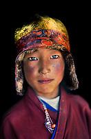 Kham, Tibet 2006. Monk in Degang valley, Kham, Tibet, 2005