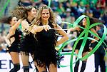 07.09.2011, Siemens Arena, Vilnius, LTU, FIBA EuroBasket 2011, Frankreich vs Tuerkei, im Bild Cheerleaders Zalgiris Dancers during basketball game between National basketball teams of Turkey and France at FIBA Europe Eurobasket Lithuania 2011, on September 7, 2011, in Siemens Arena,  Vilnius, Lithuania.France defeated Turkey 68-64. EXPA Pictures © 2011, PhotoCredit: EXPA/ Sportida/ Vid Ponikvar  +++++ ATTENTION - OUT OF SLOVENIA/(SLO) +++++