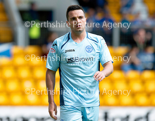 St Johnstone FC...Season 2012-13.Sean Higgins.Picture by Graeme Hart..Copyright Perthshire Picture Agency.Tel: 01738 623350  Mobile: 07990 594431