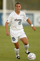 Monica Gerardo of the washington Freedom. The Freedom defeated the NY Power 4-2 on Saturday August 10, at Mitchel Athletic Complex, Uniondale, NY.