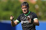 Getafe CF's coach Michel Gonzalez during training session. August 17,2021.(ALTERPHOTOS/Acero)