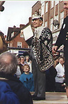 Pictured: Collect:  George Major in his younger years. <br /> <br /> Would you Adam and Eve it?  A pensioner spent his life savings opening the world's very first dedicated Cockney Museum - in Surrey.  Pearly King George Major has wanted to open a museum celebrating the old traditions of the East End of London since he was teenager.<br /> <br /> Now the 83-year old has finally achieved his dream but not in his birthplace of Peckham, but in the Home Counties, where he now lives.  Great grandfather George - who spent £60,000 on the project - said that 'Cockney London' is now 'basically dead' and claimed there are more Cockneys living in Surrey these days than there are in the capital.  SEE OUR COPY FOR DETAILS.<br /> <br /> © Solent News & Photo Agency<br /> UK +44 (0) 2380 458800