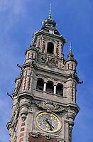 Europe/France/Nord-Pas-de-Calais/59/Nord/Lille: La Grand Place - Le Beffroi