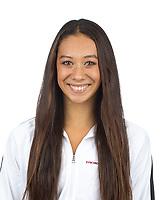 Stanford, CA - November 7, 2019: Ava Jih-Schiff Athlete Headshot.