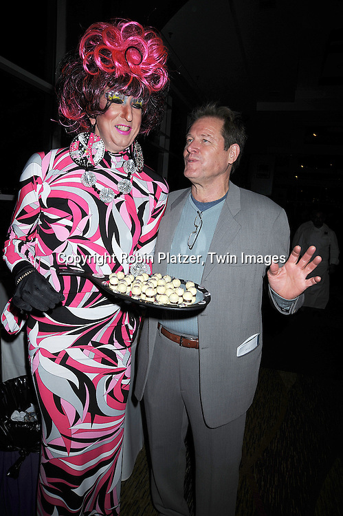 Chocolatina and Brian Kerwin..at The League for the Hard of Hearing's 16th Annual Feast with Famous Faces Benefit on October 27, 2008 at Pier Sixty at Chelsea Piers.....Robin Platzer, Twin Images