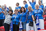 Spartak Trnava v St Johnstone...07.08.14  Europa League Qualifier 3rd Round<br /> Some of the 150 plus St Johnstone fans who have made their way to the FC Vion Stadium to support their tem<br /> Picture by Graeme Hart.<br /> Copyright Perthshire Picture Agency<br /> Tel: 01738 623350  Mobile: 07990 594431