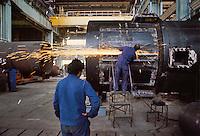 - Ansaldo plant in sesto S.Giovanni (Milano)....- stabilimento Ansaldo a Sesto S.Giovanni (Milano)