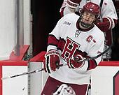 Eddie Ellis (Harvard - 7) - The visiting Colgate University Raiders shut out the Harvard University Crimson for a 2-0 win on Saturday, January 27, 2018, at Bright-Landry Hockey Center in Boston, Massachusetts.