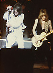 Ozzy Osbourne , Randy Rhoads at The Palladium in NYC May 1981.