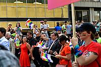 Mayor Denis Coderre attend <br /> Montreal gay pride 2017