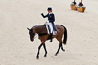 AUS-Lucinda Fredericks (FLYING FINISH) 2012 LONDON OLYMPICS (Sunday 29 July 2012) EVENTING DRESSAGE: INTERIM-=7TH (40.00)
