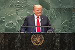 DSG meeting<br /> <br /> AM Plenary General DebateHis<br /> <br /> <br /> His Excellency Donald Trump, President, United States of America