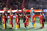 Atlanta, Georgia - Sunday, March 10, 2019: Atlanta United and FC Cincinnati tied, 1-1, in the teams' first meeting in a match played in Mercedes-Benz Stadium.