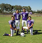 St. Anthony High School Football team photo.