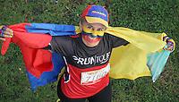 BOGOTA-COLOMBIA-17 -03-2013. Carrera atlética  Runtour Avianca de 10 kilómetros ganada por  el antioqueño Diego Colorado de Porvenir con un tiempo de  30 minutos  36 segundos y en la categoría  femenina fué ganada por la antioqueña   Carolina Tabares de Porvenir  . Avianca Runtour footrace of 10 miles won by Diego Colorado Porvenir Antioquia with a time of 30 minutes 36 seconds in the women's category was won by the Antiochian Carolina Tabares of Porvenir.Photo / VizzorImage / Felipe Caicedo / Staff