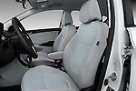 Front seat view of 2017 Hyundai Accent SE 6-Speed Automatic 5 Door Hatchback Front Seat  car photos