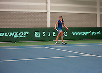Rotterdam, The Netherlands, 15.03.2014. NOJK 14 and 18 years ,National Indoor Juniors Championships of 2014, Gabriella Mujan (NED)<br /> Photo:Tennisimages/Henk Koster