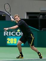 11-02-14, Netherlands,Rotterdam,Ahoy, ABNAMROWTT,Dmitry Tursunov(RUS) <br /> Photo:Tennisimages/Henk Koster