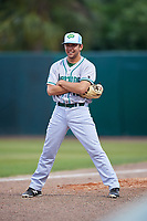 Daytona Tortugas pitcher Jesse Adams (17) during a game against the Florida Fire Frogs on April 7, 2018 at Osceola County Stadium in Kissimmee, Florida.  Daytona defeated Florida 4-3 in a six inning rain shortened game.  (Mike Janes/Four Seam Images)