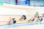 Racquel Sheath of New Zealand competes in the Women's Points Race 25 km Final during the 2017 UCI Track Cycling World Championships on 16 April 2017, in Hong Kong Velodrome, Hong Kong, China. Photo by Marcio Rodrigo Machado / Power Sport Images