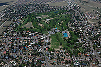 aerial photograph of The Canyon Club at Four Hills golf course, Albuquerque, New Mexico