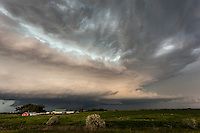 Supercell thunderstom in Belle Fourche, SD