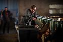 15/02/17 - COURNOLS - PUY DE DOME - FRANCE - GAEC des Coustilles. Distribution d aliments - Photo Jerome CHABANNE