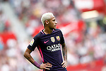 FC Barcelona's Neymar Santos Jr during La Liga match. September 24,2016. (ALTERPHOTOS/Acero)