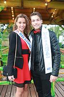 LIVIA HOARAU, Miss Elegance 2017 & MISTER FRANCE 2017 - Soirée d'inauguration de la foire du trône 2017 - Paris, France - 31/03/2017