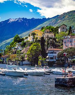 Schweiz, Tessin, Ascona am Lago Maggiore   Switzerland, Ticino, Ascona at Lago Maggiore