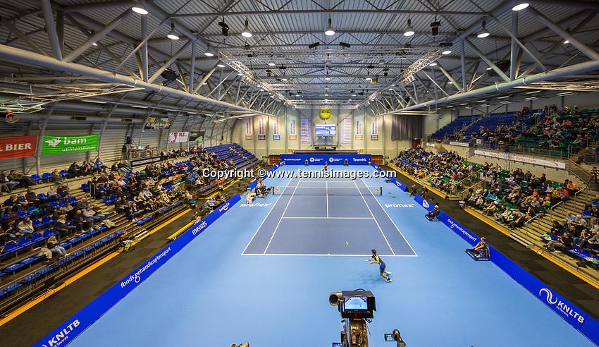 Rotterdam, Netherlands, December 17, 2017, Topsportcentrum, Ned. Loterij NK Tennis, Final man's single: overall view<br /> Photo: Tennisimages/Henk Koster