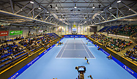 Rotterdam, Netherlands, December 17, 2017, Topsportcentrum, Ned. Loterij NK Tennis, Final man's single: overall view<br /> Photo: Tennisimages/Henk Koster