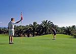 Spanien, Kanarische Inseln, Lanzarote, Teguise, Golfclub Costa Teguise   Spain, Canary Island, Lanzarote, Teguise, golf club Costa Teguise