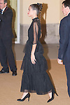 Argentine actress Martina Stoessel during the reception in honor of his majesties the Kings of Spain offered by his excellencies the president of the Argentine Republic at El Pardo Palace in Madrid, Spain. February 23, 2017. (ALTERPHOTOS/BorjaB.Hojas)