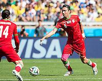 Belo Horizonte, Brazil - Saturday, June 21, 2014: Argentina defeated Iran 1-0 during group play at Estádio Mineirão.