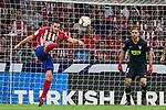 Atletico de Madrid's Koke Resurreccion (l) and Jan Oblak (r) during La Liga match. August 25, 2018. (ALTERPHOTOS/A. Perez Meca)