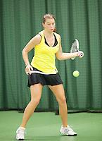 15-3-09, Rotterdam, Nationale Overdekte Jeugdkampioenschappen 12 en 18 jaar, Querine Lemoine