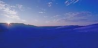 Sunrise in the Simpson Desert, Queensland Outback Australia