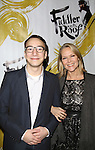 Alex Burstein and Rebecca Luker attends the Broadway Opening Night Performance of 'Fiddler On The Roof'  at the Broadway Theatre on December 20, 2015 in New York City.