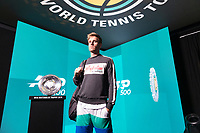 Rotterdam, The Netherlands, 11 Februari 2019, ABNAMRO World Tennis Tournament, Ahoy, first round match: Peter Gojowczyk (GET)<br /> Photo: www.tennisimages.com/Henk Koster