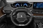 Car pictures of steering wheel view of a 2021 Peugeot 3008 GT-Pack 5 Door SUV Steering Wheel