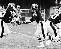 Jordan Case Ottawa Rough Riders quarterback 1980. Copyright photograph Scott Grant/
