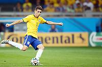 Oscar of Brazil scores a goal to make it 1-7
