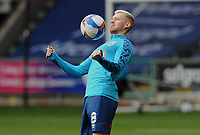 Huddersfield Town's Lewis O'Brien during the pre-match warm-up <br /> <br /> Photographer Ian Cook/CameraSport<br /> <br /> The EFL Sky Bet Championship - Swansea City v Huddersfield Town - Saturday 17th October 2020 - Liberty Stadium - Swansea<br /> <br /> World Copyright © 2020 CameraSport. All rights reserved. 43 Linden Ave. Countesthorpe. Leicester. England. LE8 5PG - Tel: +44 (0) 116 277 4147 - admin@camerasport.com - www.camerasport.com