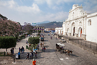 Antigua, Guatemala.  Church of San Jose (Cathedral of Santiago) (St. James).