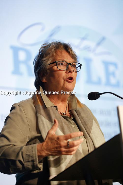 chantal Rouleau<br />  Premier jour du conseil general de la Coalition Avenir Quebec<br /> , le 25 mai 2019.<br /> <br /> PHOTO :  Agence Quebec Presse