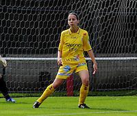 Supercup seizoen 2011 - 2012 ; Kampioen Standard Femina tegen Bekerwinnaar Waasland Beveren Sinaai Girls : Steffi  De Pelsmaeker.foto DAVID CATRY / Vrouwenteam.be